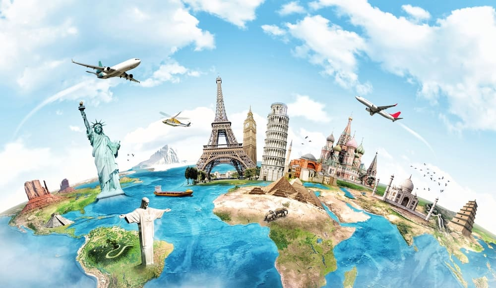 World traveler as an expensive hobby