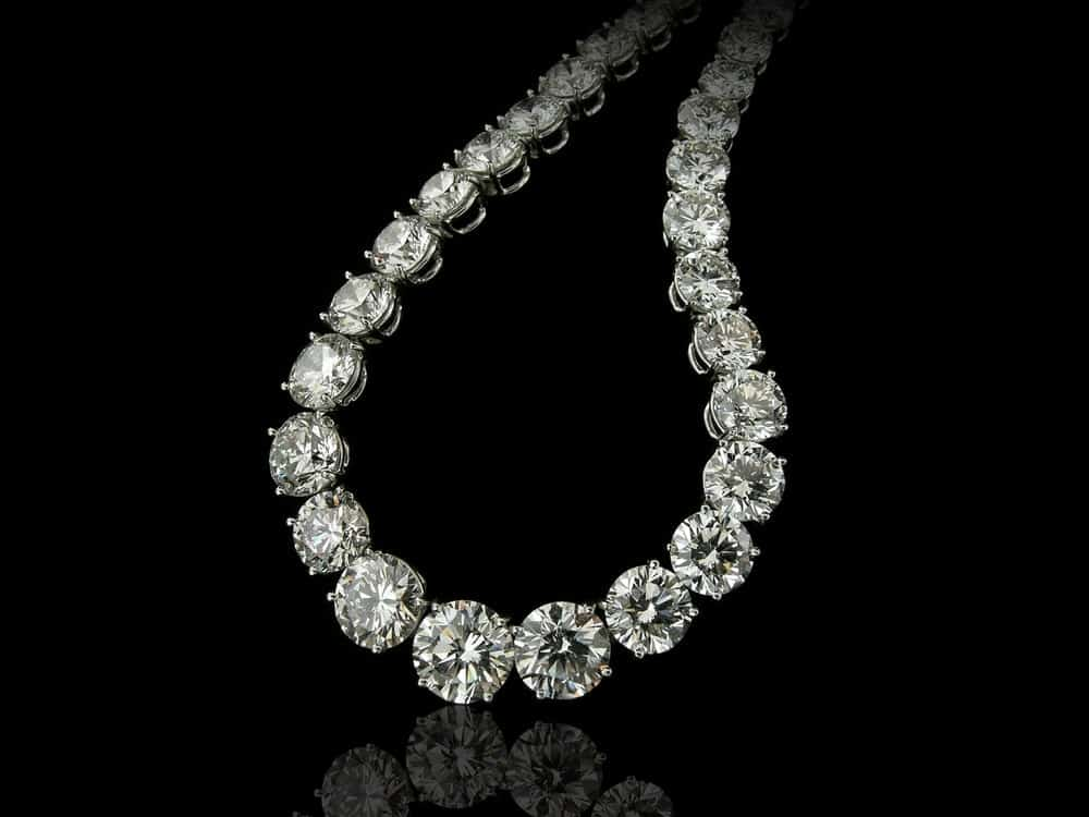 Diamond princess necklace