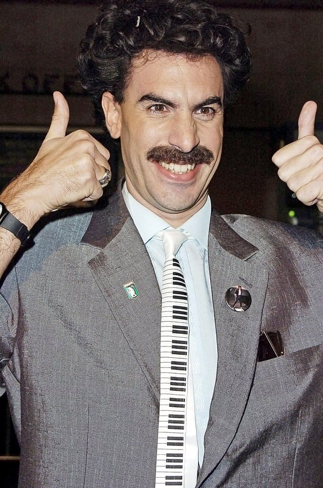 Borat's mustache