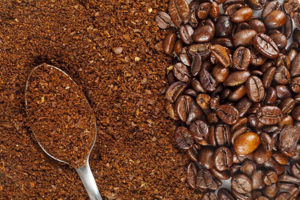 Coffee for darkening hair