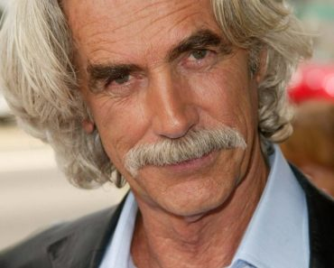 Photo of Sam Elliott with his famous mustache and silver hair