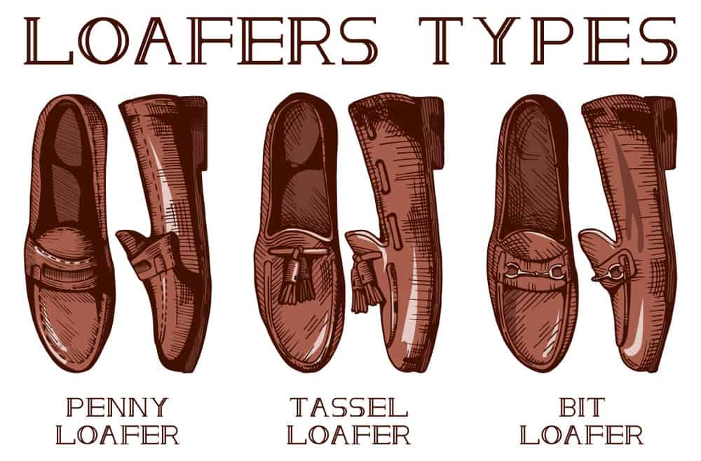 Types of loafer shoes for men