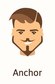 Anchor beard style