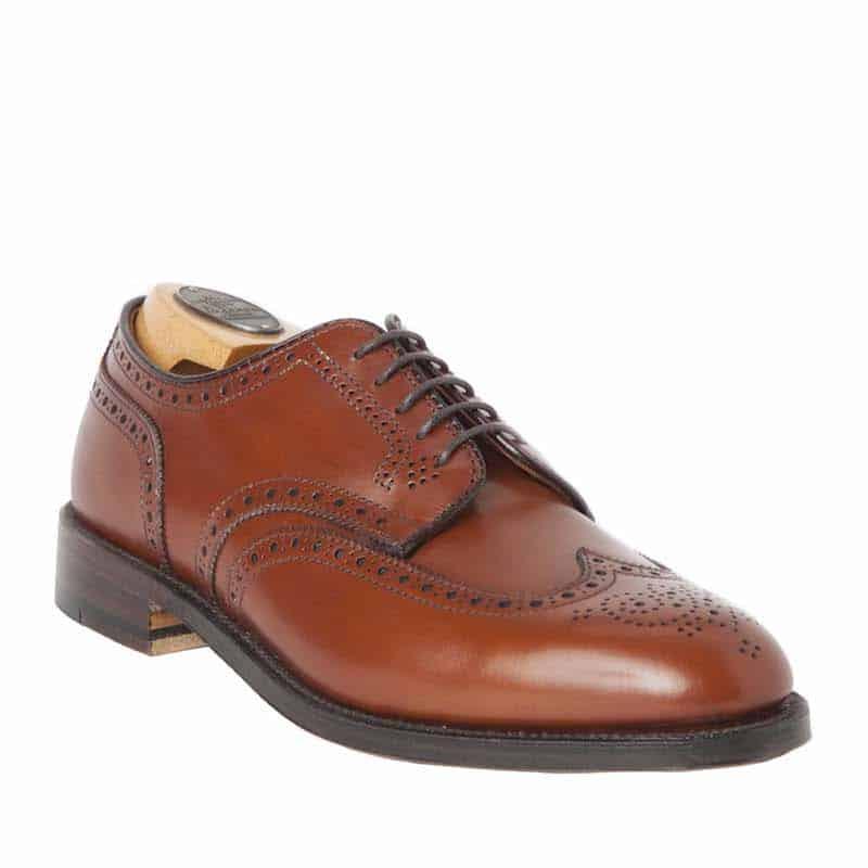 Blucher shortwing shoe for men