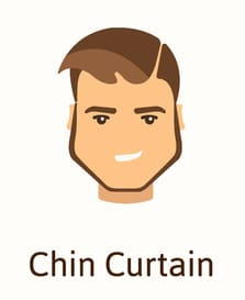 Chin curtain