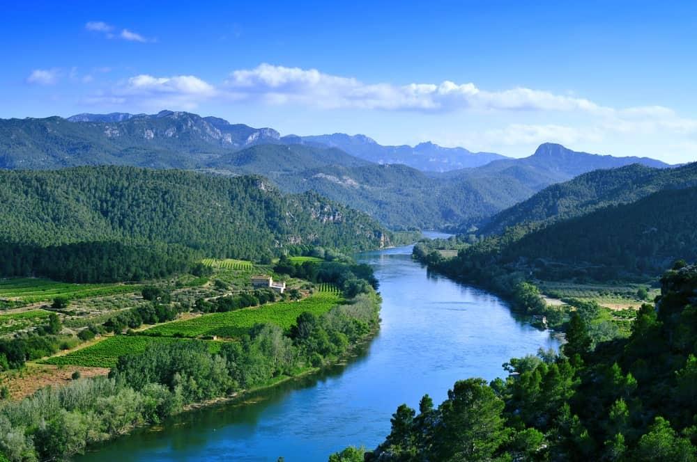 Ebro River in Spain