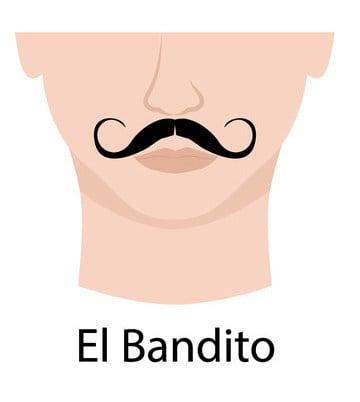 El Bandito moustache