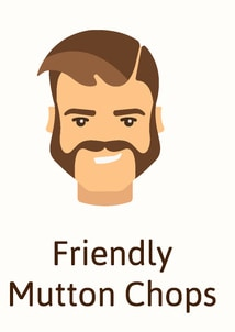 Friendly muttonchops beard