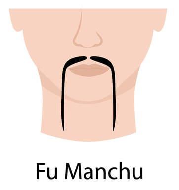 Fu manchu moustache