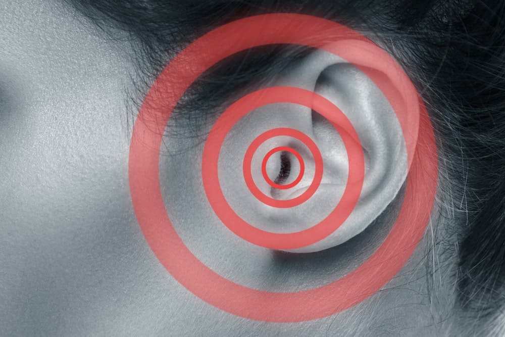 Visual concept of hearing pain.