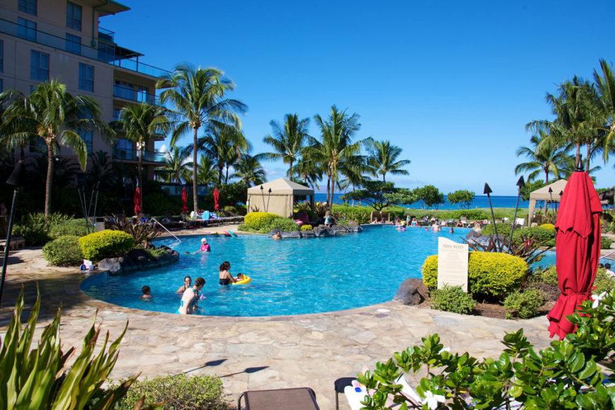 Kids pool at Honua Kai resort