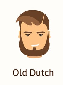 Old Dutch beard style