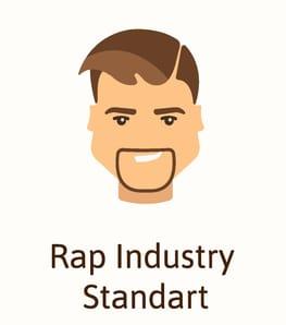 Rap beard style