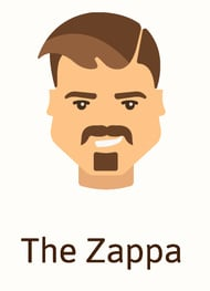 The Zappa beard style