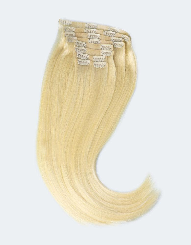 Wefted panels hair extension