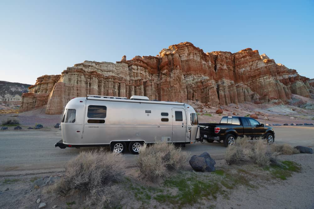 Airstream RV travel trailer