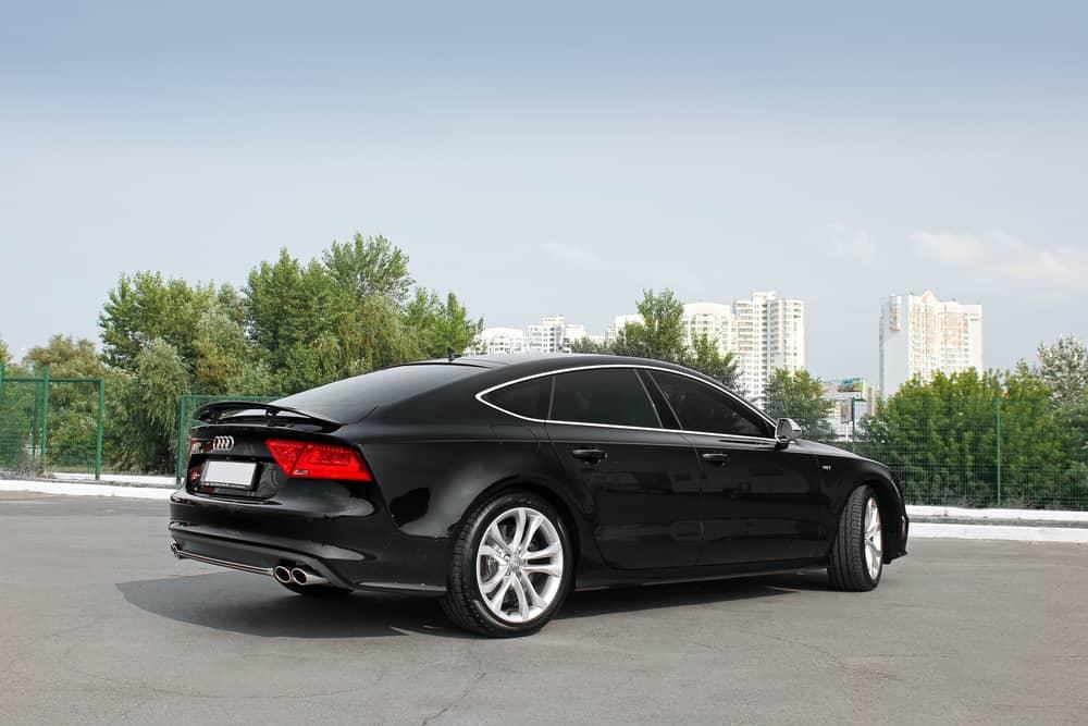 Audi S7 rear view