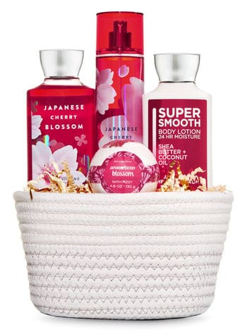 Bath and body works gift set for daycare provider