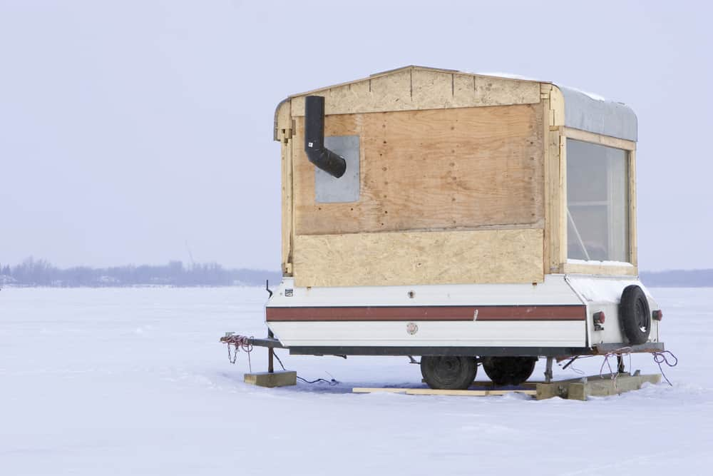 Ice-fishing RV