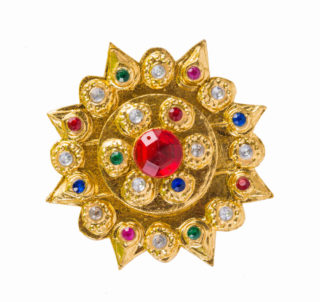 Indian jewlery with ruby