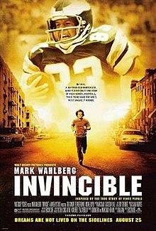 Invincible movie poster