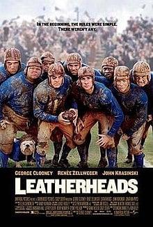 Leatherheads movie poster