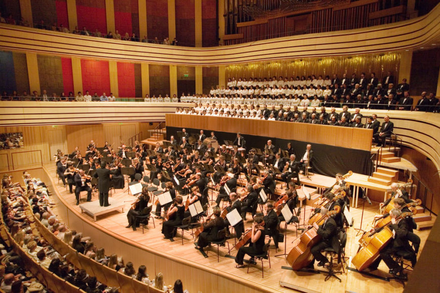 Symphony in concert hall