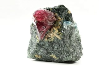 Tanzania Ruby in rock