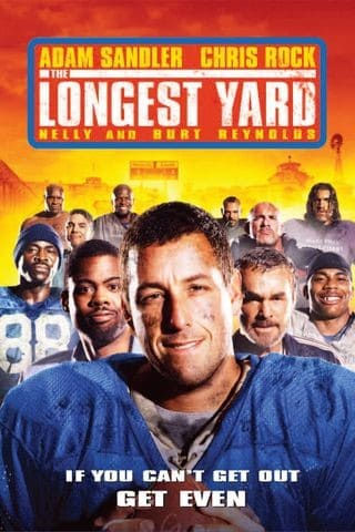 The Longest Yard remake movie poster