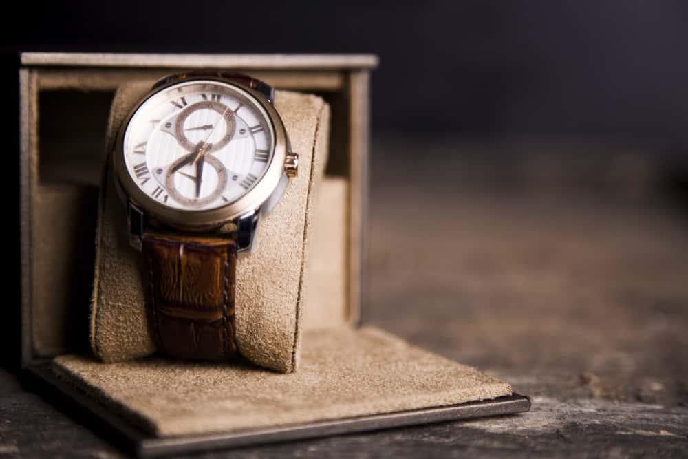 Vintage wristwatch for men