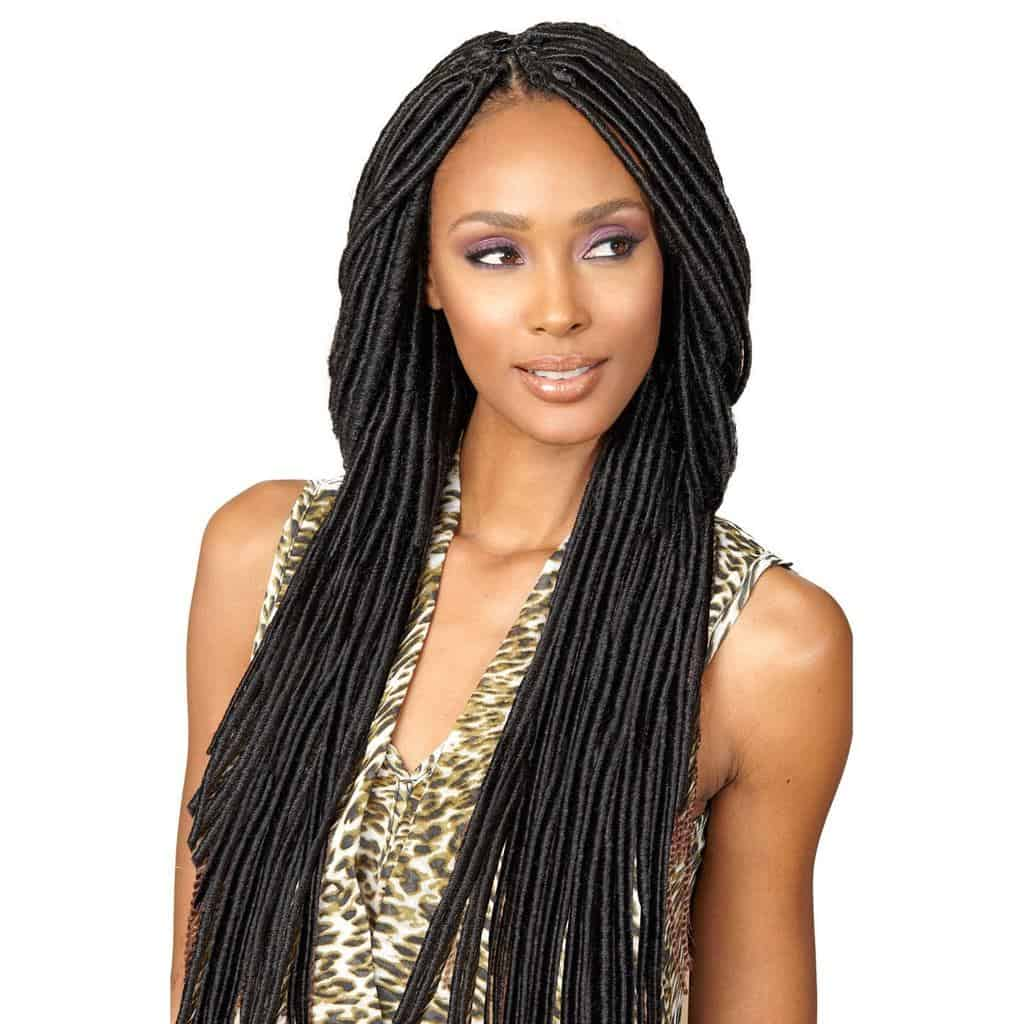 Long crochet hair