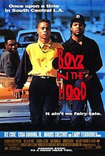 Boyz 'n the Hood movie with Ice Cube