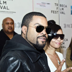 Ice Cube at Straight Outta L.A. at Tribeca Film Festival in 2010