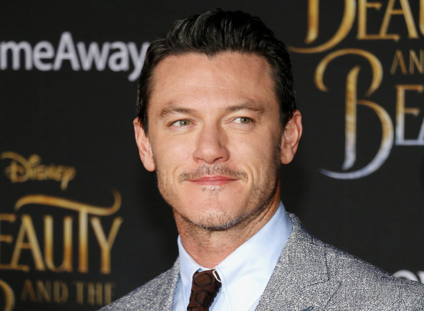 Luke Evans at the Los Angeles premiere of Beauty And The Beast held at the El Capitan Theatre in Hollywood