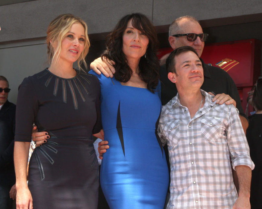 The cast of Married...With Children