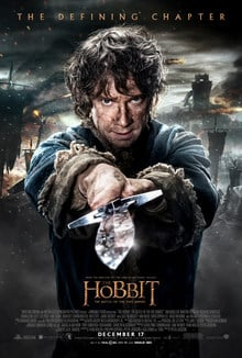 The Hobbit Battle of 5 Armies Movie Poster