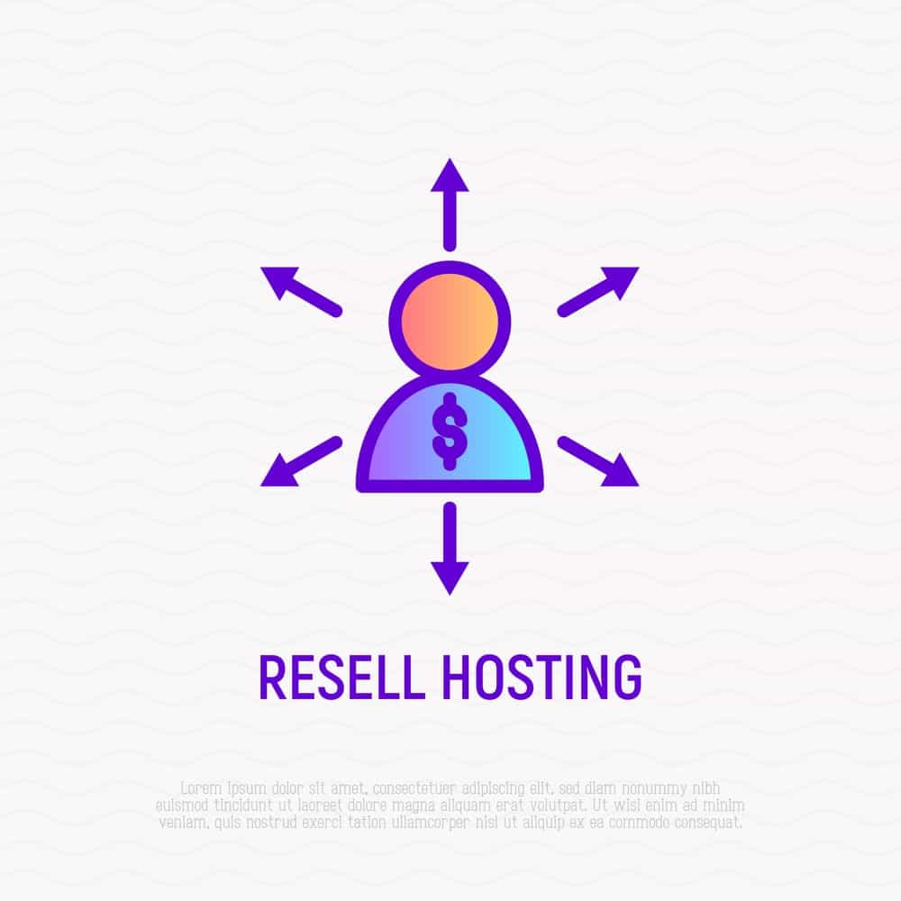 Resell Hosting Icon