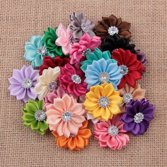Ribbon Flower Bows