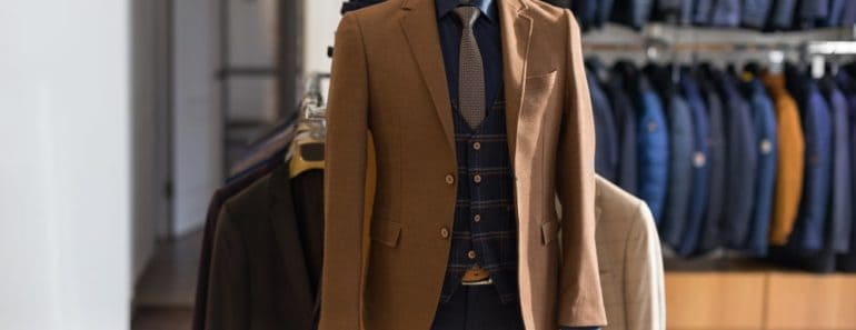 Different types of Men's jackets