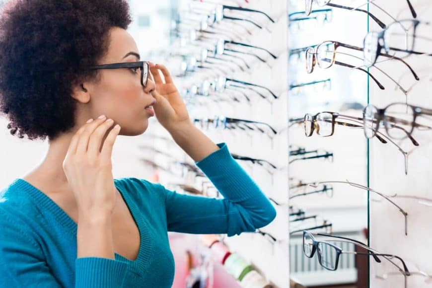 Types and styles of eye glasses for your vision and face