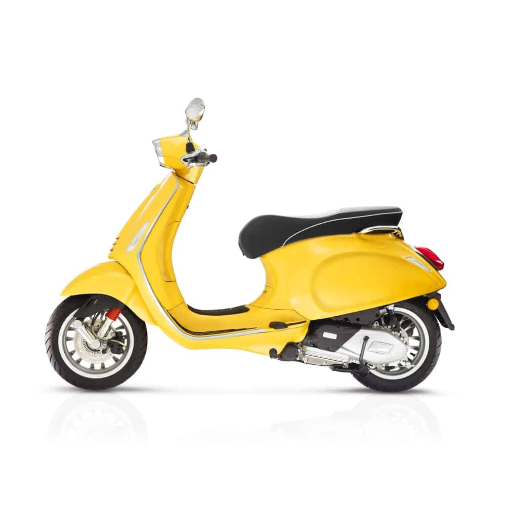 Yellow Scooter Bike