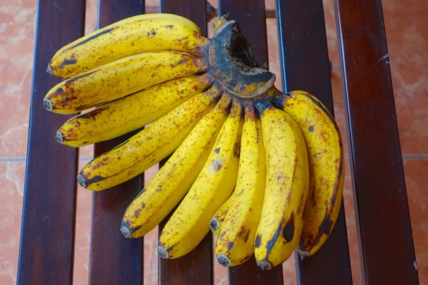 Indonesian Barangan Banana