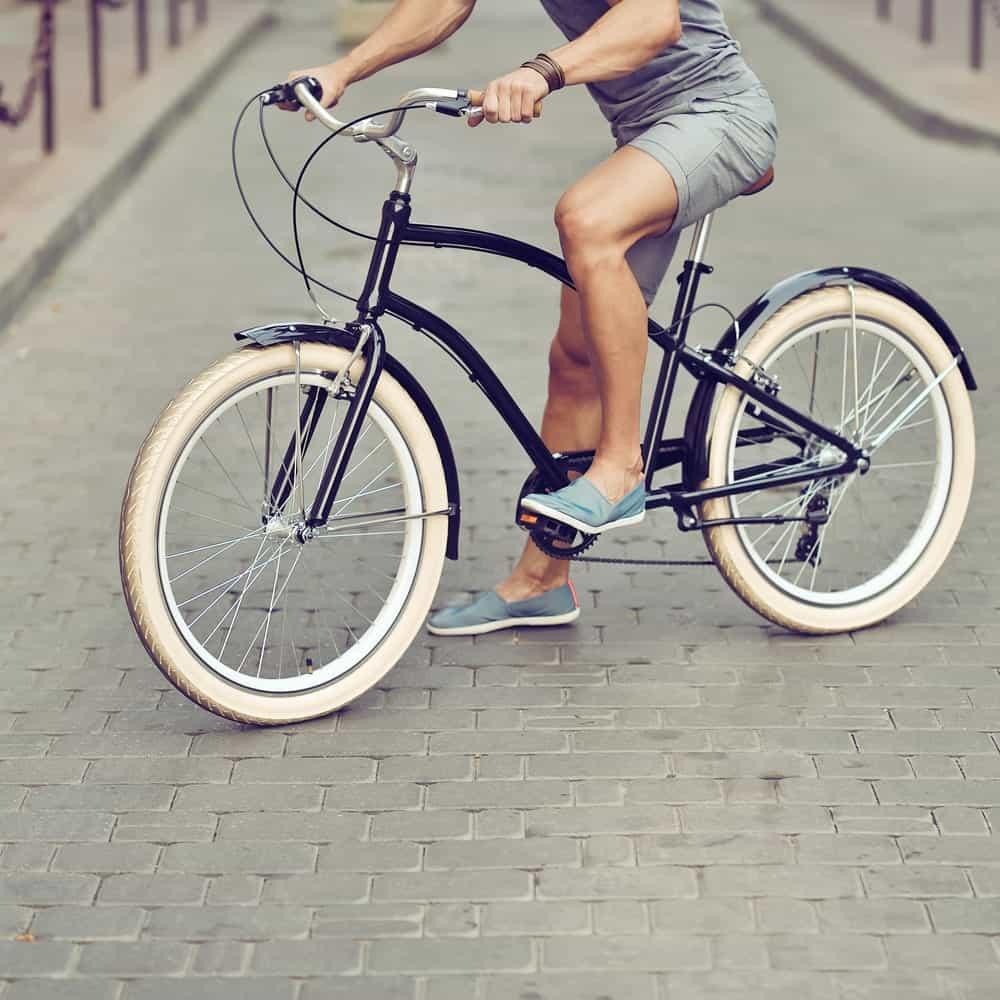 a Vintage Hybrid Bike