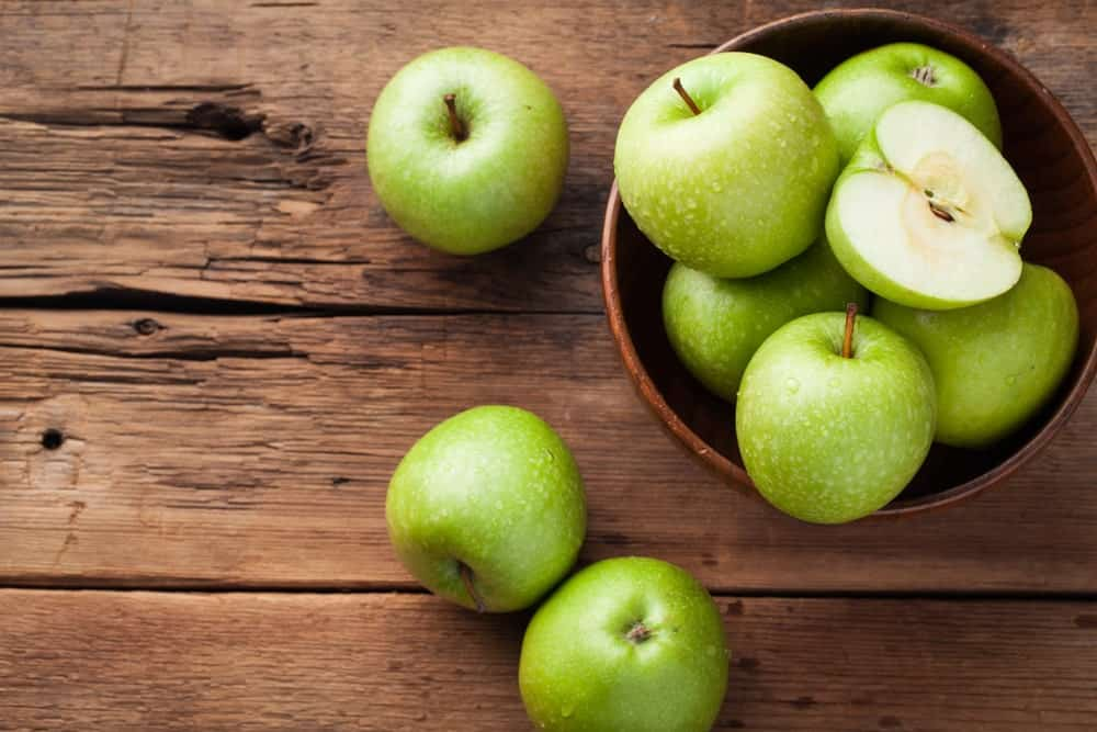 Green Dragon apples