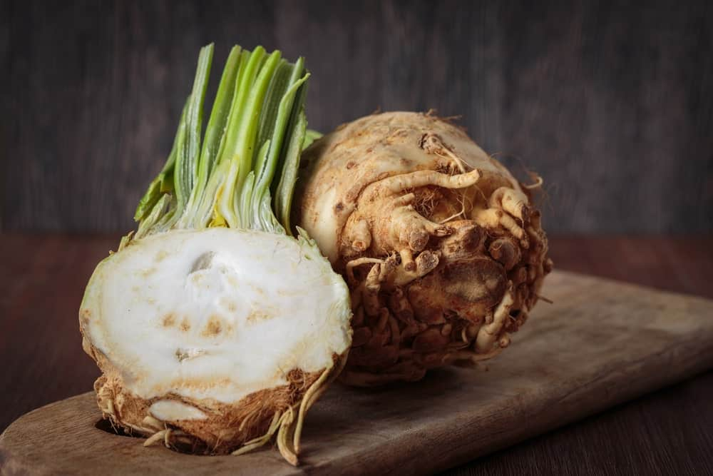 Raw and Fresh Celeriac