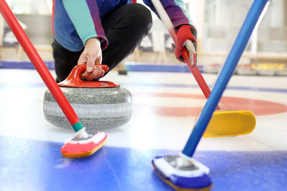 Curling is a traditional stick