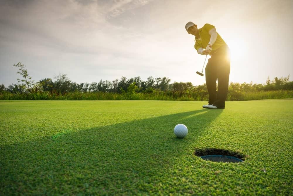 Golfing match