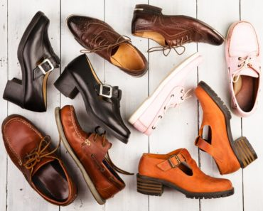 Pairs of unisex footwear