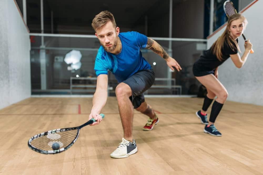 Squash tests a player's endurance