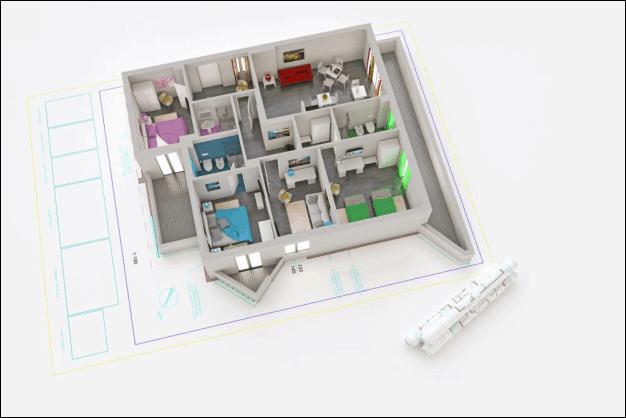 3D Architecture Plan